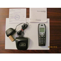PVM - Mobil telefon vechi functional aproape nefolosit SAGEM H10 fabricat China