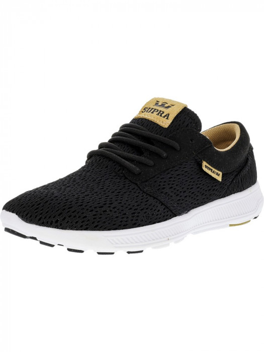 Supra barbati Hammer Run Black / Tan White Ankle-High Running Shoe