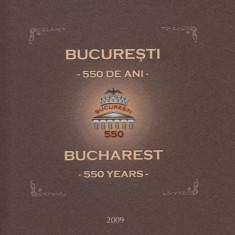 ROMANIA 2009  LP 1845 b  BUCURESTI - 550 ANI  ALBUM FILATELIC