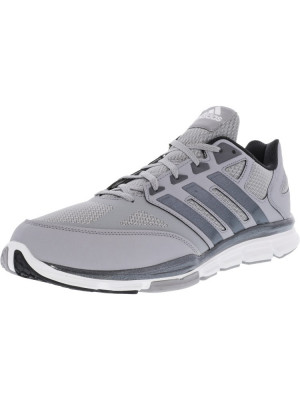 Adidas barbati Speed Trainer Light Onix / Carbon Metallic Footwear White Ankle-High Tennis Shoe foto