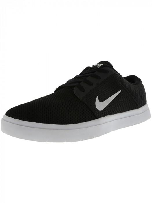 Nike barbati Sb Portmore Renew Black / White Anthracite Ankle-High Skateboarding Shoe