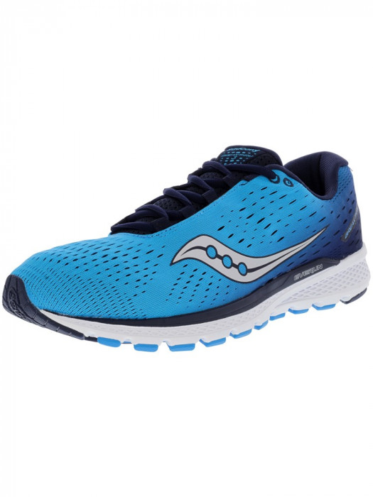 Saucony barbati Breakthru 3 Blue / Navy Ankle-High Running Shoe foto mare