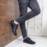 Pantofi barbati Piele Magin negri