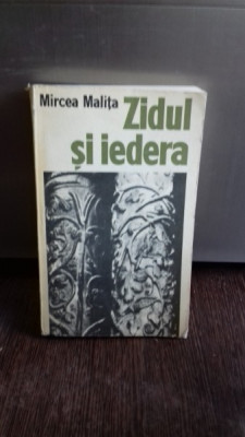 ZIDUL SI IEDERA - MIRCEA MALITA foto