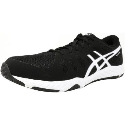 Asics barbati Nitrofuze Tr Black / White Ankle-High Training Shoes foto