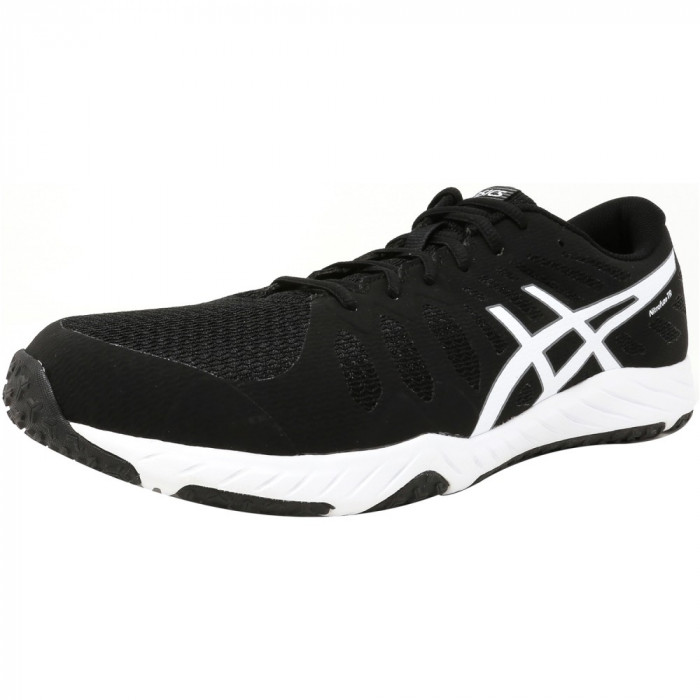 Asics barbati Nitrofuze Tr Black / White Ankle-High Training Shoes
