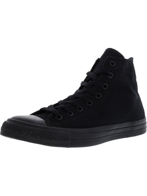 Converse Chuck Taylor All Star Hi Black / Monochrome High-Top Leather Fashion Sneaker foto