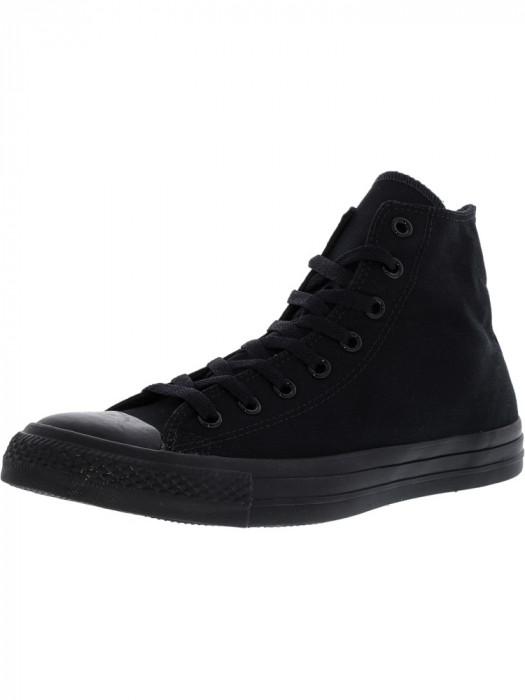 Converse Chuck Taylor All Star Hi Black / Monochrome High-Top Leather Fashion Sneaker
