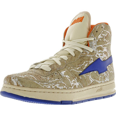 Avia barbati 1M09404603 Cream / Blue Orange High-Top Fashion Sneaker foto
