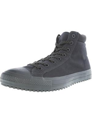 Converse All Star Boot Pc Hi Almost Black / High-Top Canvas Fashion Sneaker foto