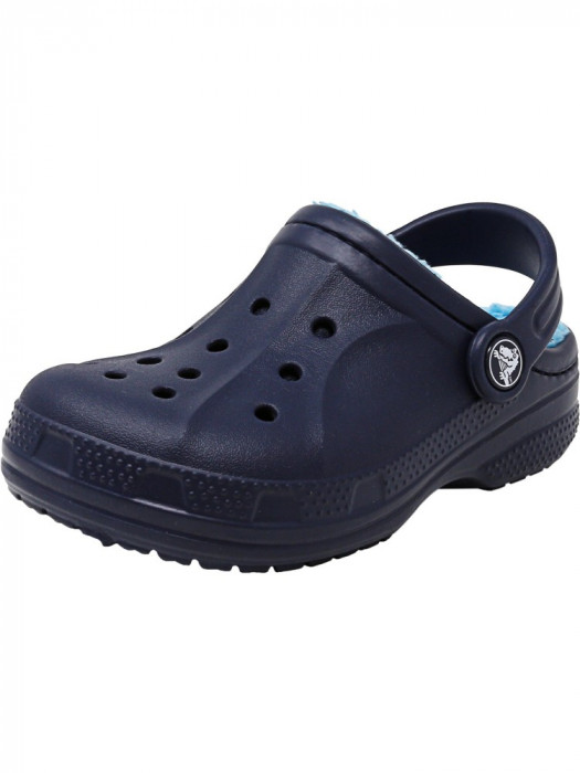 Crocs Winter Clog Navy / Electric Blue Ankle-High Clogs