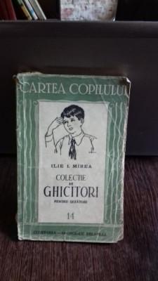 Colectie de Ghicitori pentru sezatori , Ilie I. Mirea foto