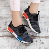 Pantofi dama sport Santar negri
