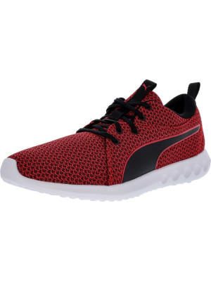 Puma barbati Carson 2 Knit Toreador / Black Ankle-High Running Shoe foto
