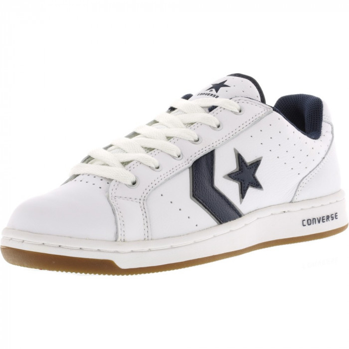 Converse Karve Ox White / Navy Ankle-High Fashion Sneaker foto mare