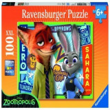 Puzzle zootopia 100 piese, Ravensburger