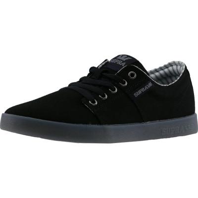 Supra barbati Stacks Ii Black / Ice Ankle-High Suede Fashion Sneaker foto