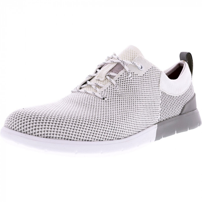 Ugg barbati Feli Hyperweave White Wall Low Top Fashion Sneaker foto mare