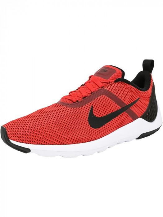 Nike barbati Lunarestoa 2 Essential University Red / Black-Team Red-White Fabric Running Shoe foto mare