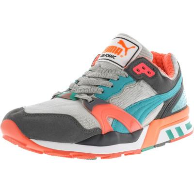 Puma barbati Trinomic Xt 2 Steel Grey / Fluorescent Teal Pink Ankle-High Fashion Sneaker foto