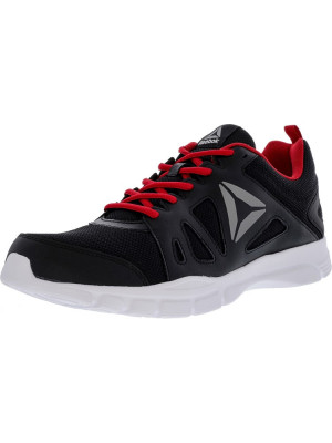 Reebok barbati Trainfusion Nine 2.0 Lmt Black / Excellent Red White Ankle-High Mesh Training Shoes foto