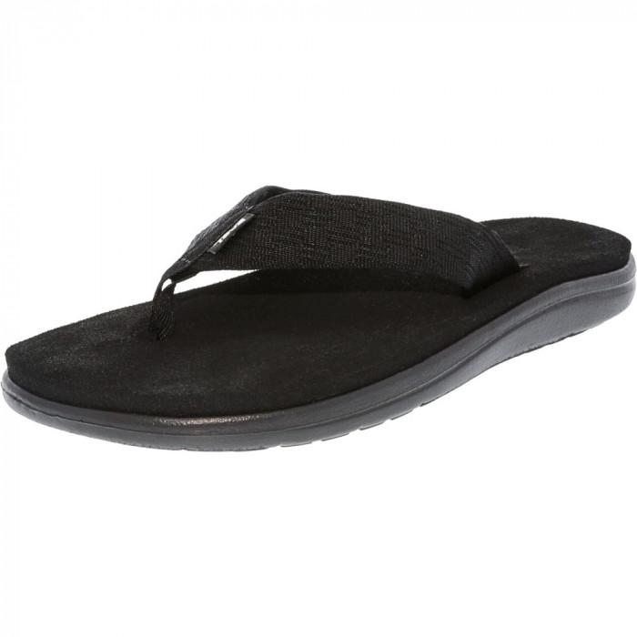 Teva barbati M Voya Brick Black Nylon Sandal foto mare