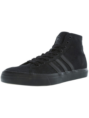 Adidas barbati Matchcourt High Rx Core Black Ankle-High Fabric Fashion Sneaker foto