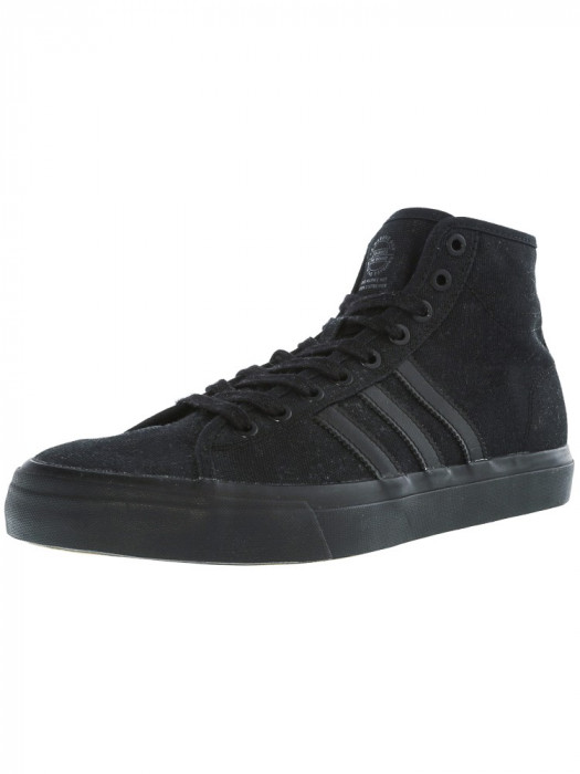 Adidas barbati Matchcourt High Rx Core Black Ankle-High Fabric Fashion Sneaker
