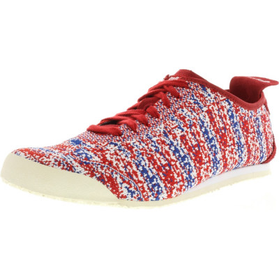 Onitsuka Tiger Mexico66 Knit True Red / Ankle-High Fabric Running Shoe foto