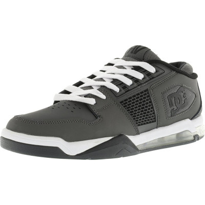 Dc barbati Ryan Villopoto Grey / White Ankle-High Skateboarding Shoe foto