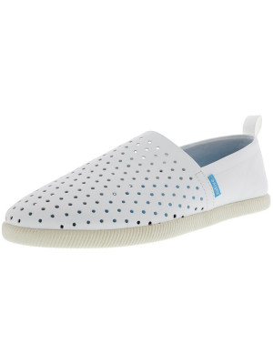 Native barbati Venice Shell White Ankle-High Slip-On Shoes foto