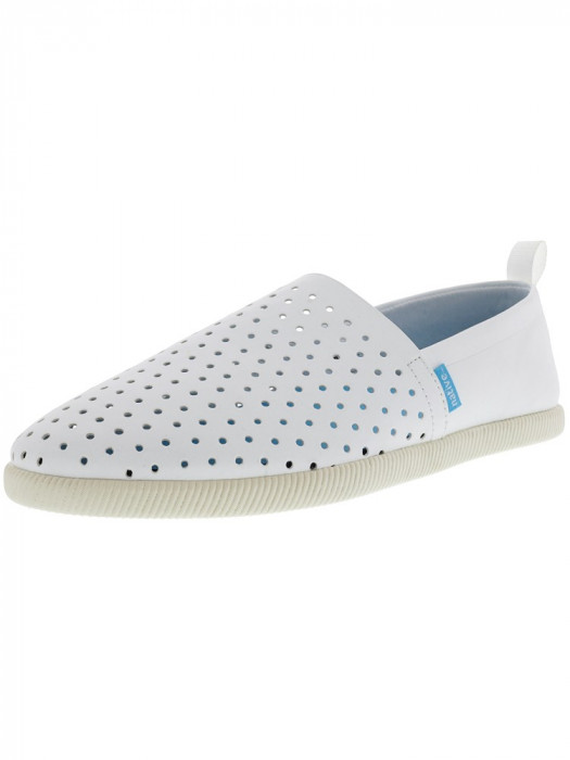 Native barbati Venice Shell White Ankle-High Slip-On Shoes foto mare