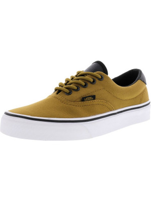 Vans Era 59 Canvas And Military Bistre / White Ankle-High Skateboarding Shoe foto