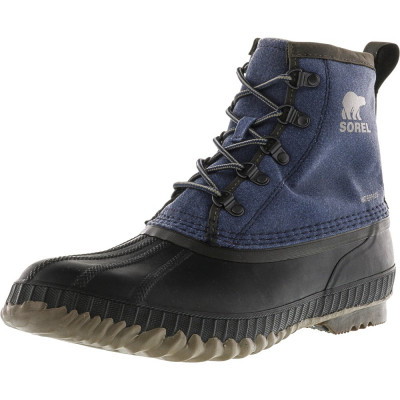 Sorel barbati Cheyanne Ii Short Cvs Collegiate Navy / Quarry Ankle-High Rain Boot foto
