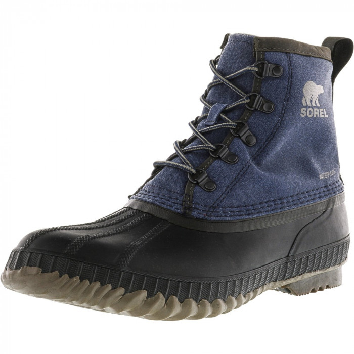 Sorel barbati Cheyanne Ii Short Cvs Collegiate Navy / Quarry Ankle-High Rain Boot foto mare