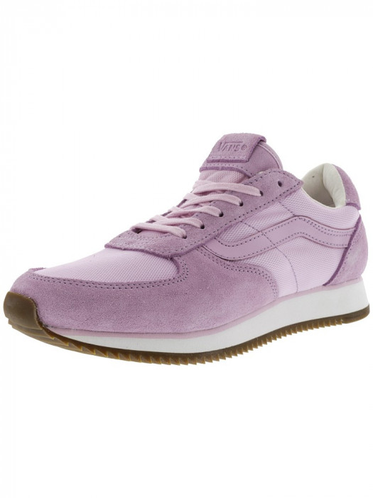 Vans Runner Lilac Snow Ankle-High Suede Running Shoe