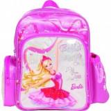 Ghiozdan gradinita Barbie in the pink shoes, BTS