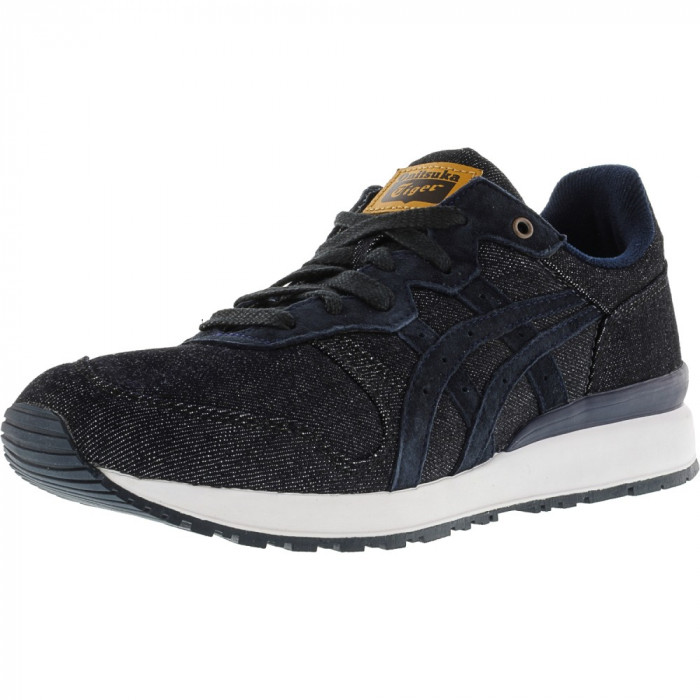 Onitsuka Tiger Ally Indigo Blue / Ankle-High Fashion Sneaker foto mare