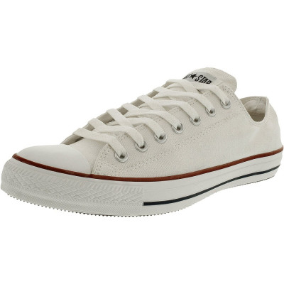 Converse Chuck Taylor All Star Core Low Top Canvas Bright White Ankle-High Rubber Fashion Sneaker foto