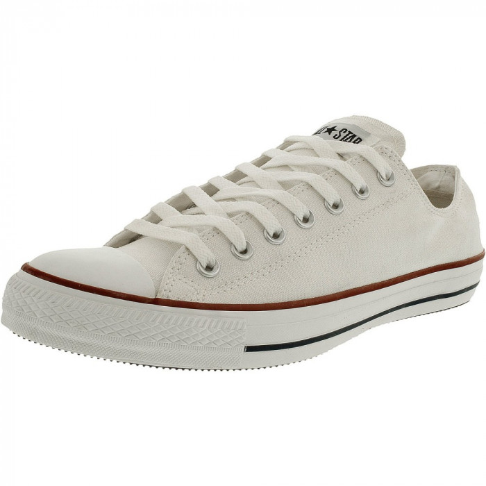 Converse Chuck Taylor All Star Core Low Top Canvas Bright White Ankle-High Rubber Fashion Sneaker