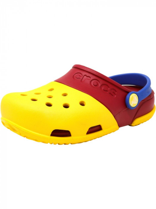 Crocs Electro Ii Clog Yellow / Pepper Ankle-High Clogs foto mare