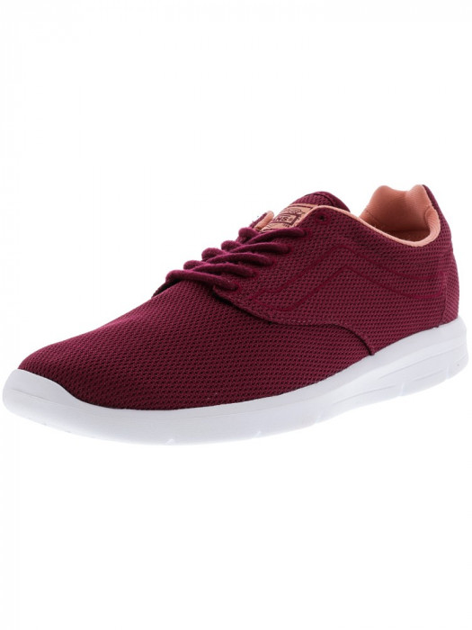 Vans Iso 1.5 Mesh Beet Red / White Ankle-High Running Shoe foto mare