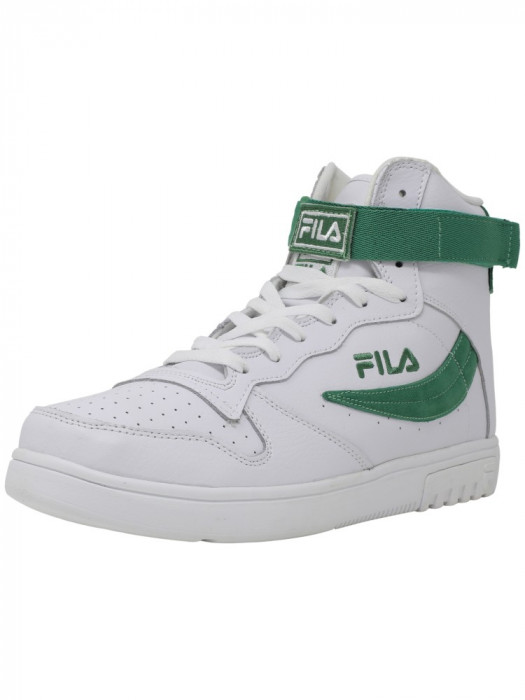 Fila barbati Fx-100 White / Fairway High-Top Basketball Shoe foto mare