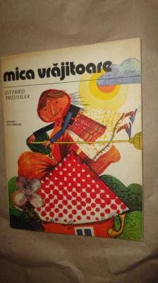 Mica vrajitoare ( ilustratii Done Stan )66pag/an 1981- Otfried Preussler foto
