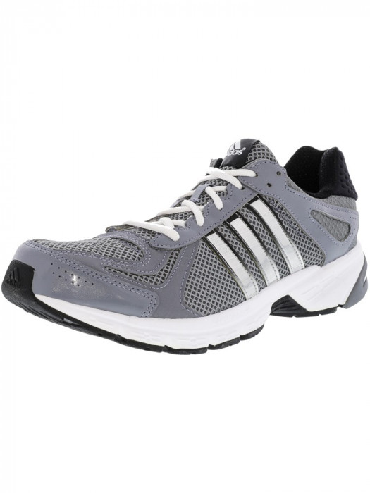 Adidas barbati Duramo 5 Tech Grey / Metallic Silver Neo Iron Ankle-High Running Shoe