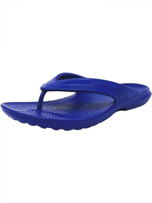 Crocs Classic Flip Cerulean Blue Low Top Rubber Sandal