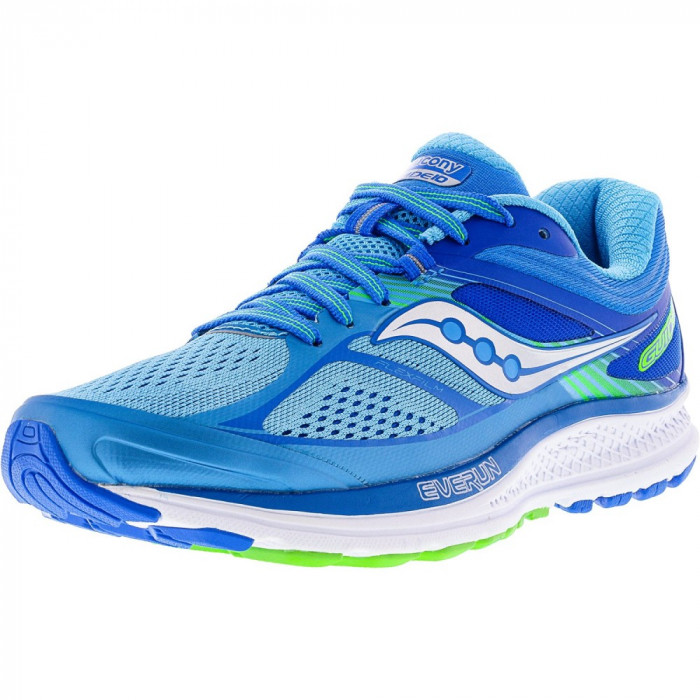 Saucony barbati Guide 10 Light Blue / Ankle-High Running Shoe foto mare