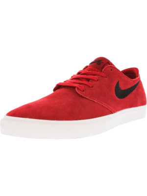 Nike barbati Zoom Oneshot Sb Gym Red / Black White Ankle-High Skateboarding Shoe foto
