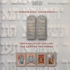 2013  LP 1990 a TABLELE  LEGII  LEGILE   LUMII   ALBUM FILATELIC