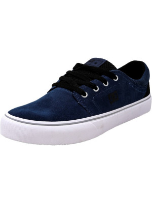 Dc barbati Trase S Deep Water Ankle-High Suede Skateboarding Shoe foto